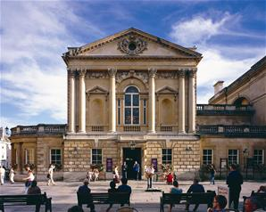 Day Trip to Bath by Rail with Entry to Roman Baths