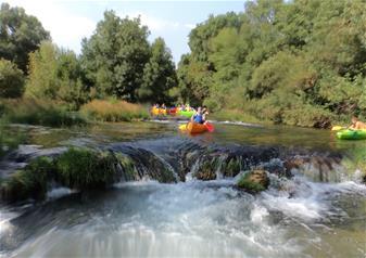 Adventure Day Trip - Canoe Safari Trebizat from Dubrovnik