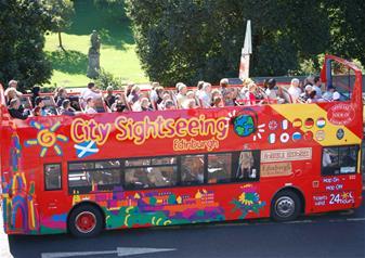 Edinburgh Hop On Hop Off Bus – 24 Hours Ticket