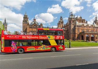 Glasgow Hop-on Hop-off Bus Tour - 2 Days Ticket