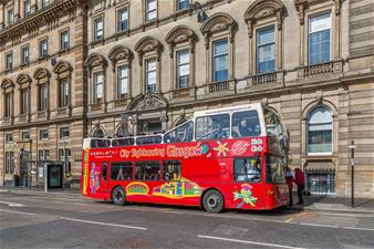 Glasgow Hop-on Hop-off Bus Tour - 1 Day Ticket