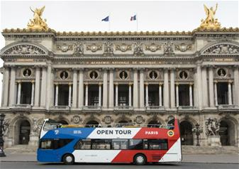Paris Hop-on Hop-off Bus Tour - 1 Day Pass