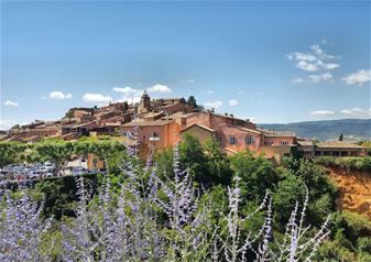 Full-Day Luberon Hilltop Villages and Market Tour from Aix-en-Provence