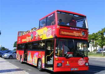 Hop-on Hop-off Open Top Bus Tour Albufeira – 24 hours Ticket