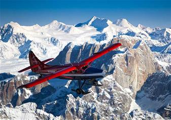 Mountain Voyager Flightseeing Tour from Talkeetna Airport