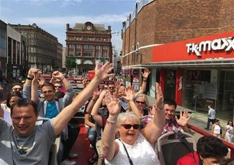 Full-Day City Tour of Belfast with 72 hours Hop-on Hop-off Bus Tour