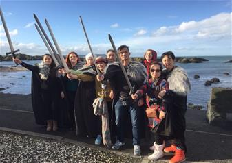 Full-Day Excursion to Game of Thrones Location with Props and Giants Causeway