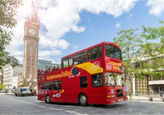 Full-Day Tour to Giants Causeway with Belfast Hop-on Hop-off City Sightseeing Tour - 48hrs