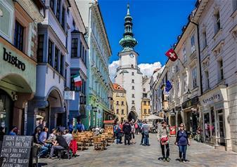 Classical Walking Tour of Bratislava