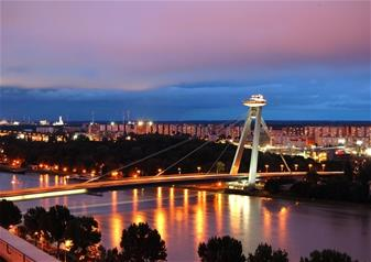 Night Tour of Bratislava
