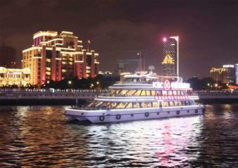 Day Tour of Water Town with Huangpu River Night Cruise in Shanghai