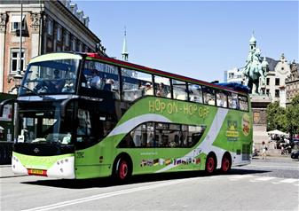 Hop-on Hop-off Supreme Ticket in Copenhagen