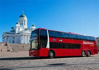 Helsinki Panorama Sightseeing Bus Tour with Audio Guide