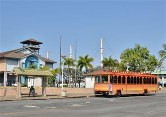 Waikiki Trolley Hop-on Hop-off Bus Tour – 4-Days All-Line Pass