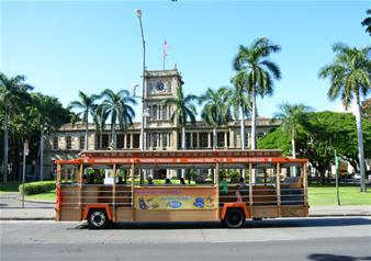 Waikiki Trolley Hop-on Hop-off Bus Tour – 1 Day All-Line Pass