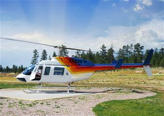 Grand Canyon South Rim Tour by a Luxury Limo Van Including a Helicopter Ride