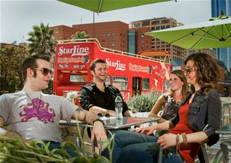 Celebrity Homes and Hollywood - Los Angeles Hop-on Hop-off Bus Tour – 24-hours
