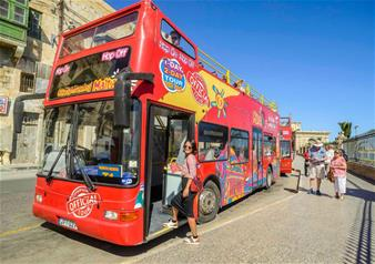 Hop-on Hop-off Bus Tour of Malta - 1 Day Ticket