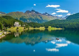 Full-Day Trip of Swiss Alps via Bernina Express Train