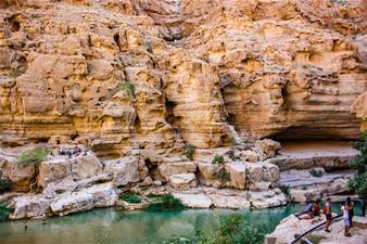 The South & Wadi Shab Tour from Muscat