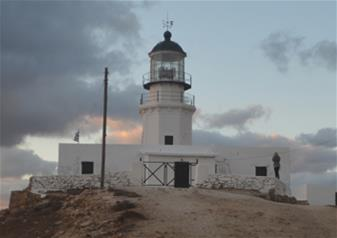 Visit to Armenistis Lighthouse in Mykonos