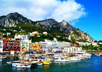 Full-Day Tour to Capri Island from Naples