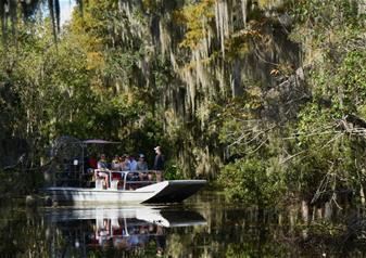 New Orleans Airboat Adventure Tour