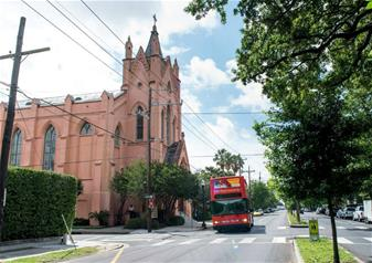 Hop-on Hop-off New Orleans Open Top Bus Tour – 1 Day Ticket
