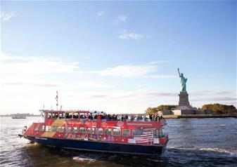 Hop-on Hop-off New York Ferry Cruise Tour