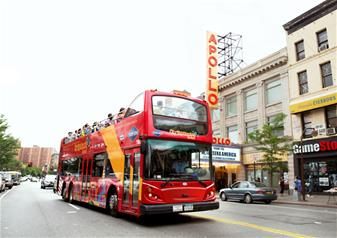 Hop-on Hop-off New York All Around Town 72 Hour Tour with 1 Attraction