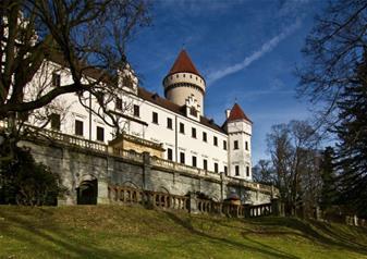 Half-Day Tour to Konopiste Chateau in Prague