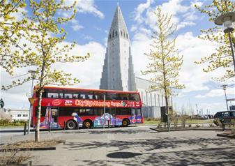 The Golden Circle and Reykjavik Hop-on Hop-off Bus Tour
