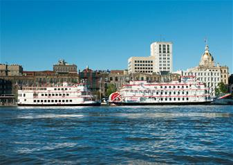Panoramic Savannah City Tour and Riverboat Trip – Combo Package