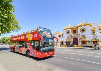 Hop-on Hop-off Bus Tour of Seville - 24 Hours