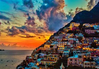 Half-Day Shopping and Dinner Tour in Positano from Sorrento