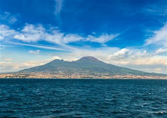 Day Tour of Pompeii and Vesuvius by Boat from Sorrento