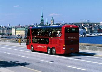 Panoramic Tour of Stockholm by Bus