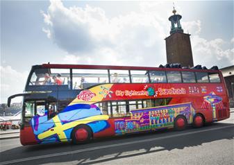 Hop-on Hop-off Bus Tour of Stockholm- 24-Hour
