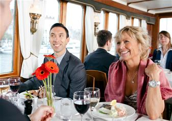 Archipelago Dinner Cruise in Stockholm via Vaxholm