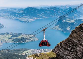 Day Trip to Mount Pilatus in Summer from Zurich