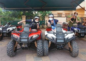 Discover Siem Reap Countryside on Quadbike Tour - Half Day Tour