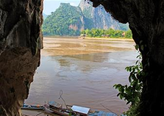 Full Day Tour of Pak Ou Caves & Kuangsi Waterfall including Mekong Boat Cruise – Private Tour