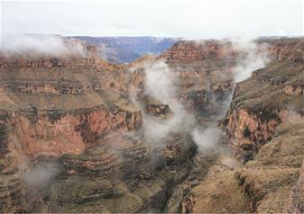 Grand Canyon West Rim Tour with Helicopter, Pontoon Boat Ride and Skywalk Ticket