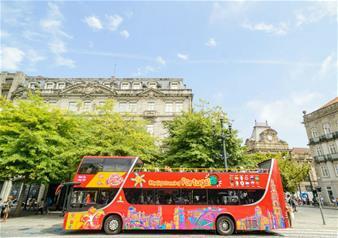 Hop-on Hop-off Porto Open Top Bus Tour – 1 Day Ticket
