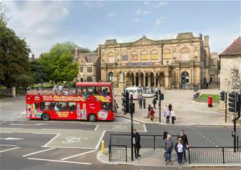 Hop-on Hop-off York Open Top Bus Tour – 24 hours Ticket
