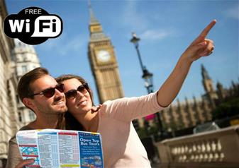 Hop On Hop Off London Bus Tour – 24hrs Ticket & The
