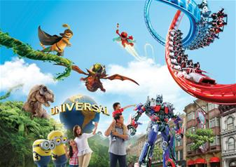 Universal Studios One Day Pass in Singapore with Hotel Pick-up